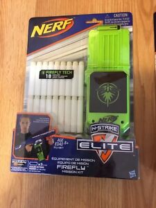 Nerf Firefly Mission Kits - Never Used