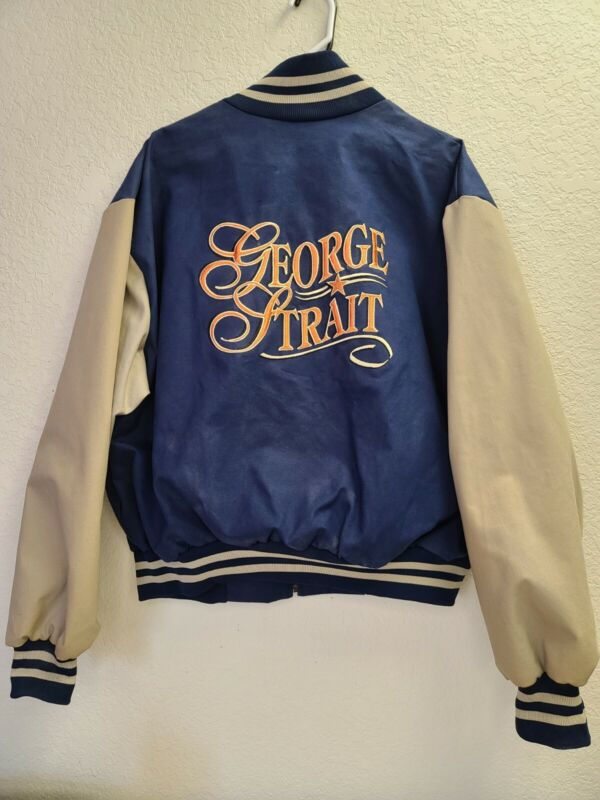 Vintage George Strait Exclusive Live Concert Tour Jacket XXL sold at merch booth