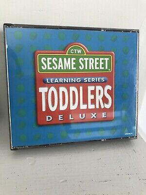 Sesame Street Learning Series Toddlers Deluxe Computer PC Game