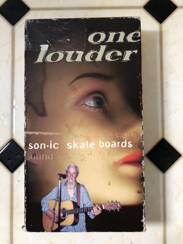 Sonic skateboards one louder rare VHS skate video Skateboarding