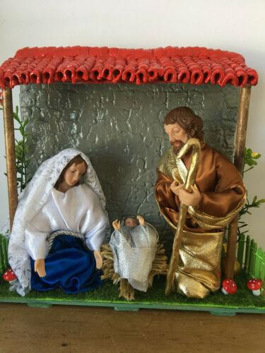 Pesebre. Nativity Sagrada Familia Católico Catholic God Baby Jesus Christmas