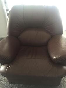 Leather lounge suite Hobart CBD Hobart City Preview