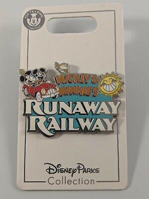 Disney Pin Trading Mickey And Minnie's Runaway Railway OE Pin