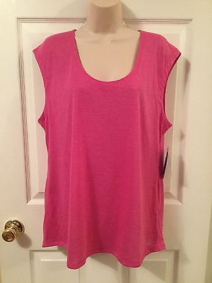 New Be Inspired Size Xl Pink Athletic Workout Shirt Top Performance Wicking Nwt