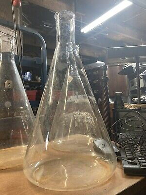 Pyrex 6000ml Flask Vintage Lab Drink Mixer Mid Century Super Cool