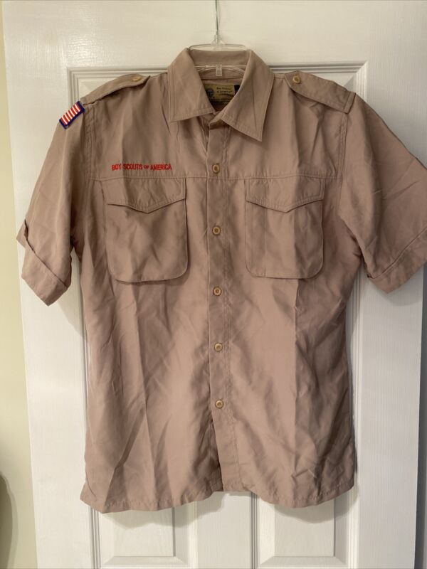 NEW Vented Microfiber Boy Scout BSA UNIFORM SHIRT Youth Extra Large XL Poly