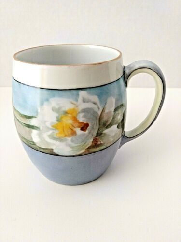 Antique MZ Austria (c.1909-1912) Mug 1145/1 Marked,Hand painted,Signed by Artist
