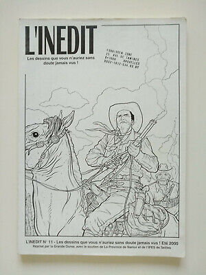 Magazine (très bel état) - L'inédit 11 (Tex & Geof Darrow) - 5.000 exemplaires