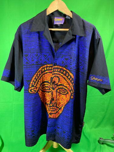 Carlos Santana Original Dragonfly Shirt Men Size L
