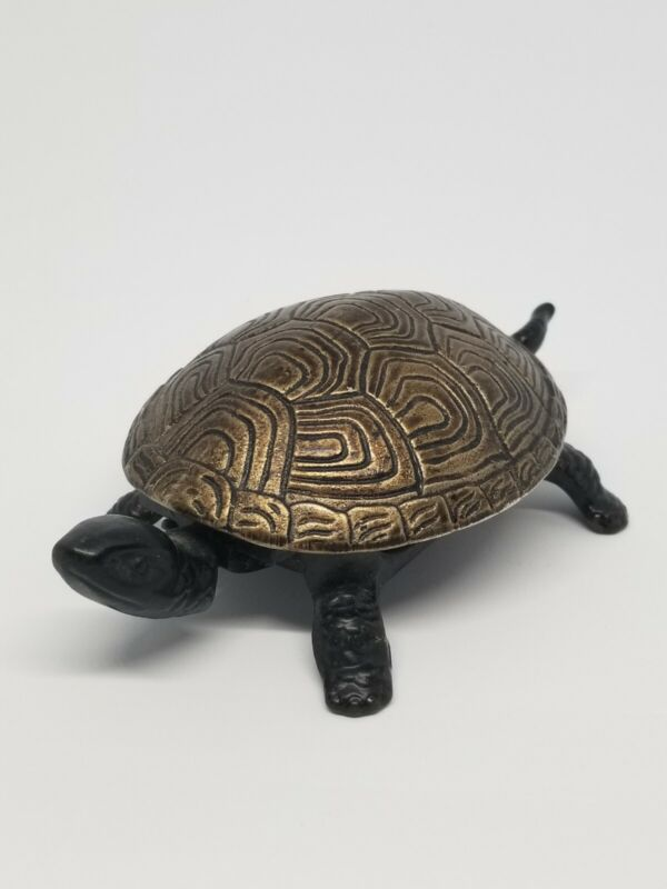 Antique Turtle Bell Marked Germany Working Condition Circa 1925