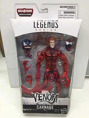 "Hasbro Marvel Legends 6"" Figure CARNAGE Monster Venom BAF Wave MISB Case Fresh"