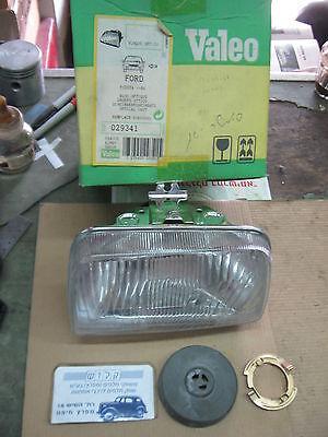 FORD FIESTA 1984 - 89 LH Side HEAD LAMP KINBY / VALEO 029341 OPTICAL UNIT