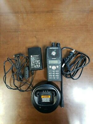 Motorola PR400 UHF Portable Radio 64 Channel AAH65RDH9AA4AN w/ Charger. Buy it now for 150.0