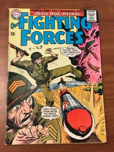 Our Fighting Forces #88 DC Comics 1964