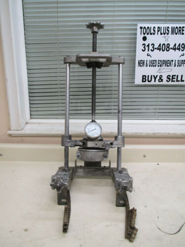 McElroy SW00107 Sidewinder Chain Clamp 1500psi Compact Pipe Fusion Machine Used