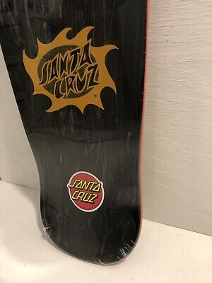 Santa Cruz Jason Jessee SUN GOD Skateboard Deck NEW SMA Powell  BLACK RED GOLD!
