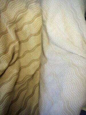 Pair of Vintage  Candlewick Bedspreads Size 90
