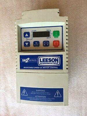 Leeson 174631.00 Sm2 1 Hp 3ph Adjustable Ac Drive Motor Speed Control Inverter