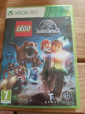 LEGO Jurassic World (Microsoft Xbox 360, 2015) Free postage