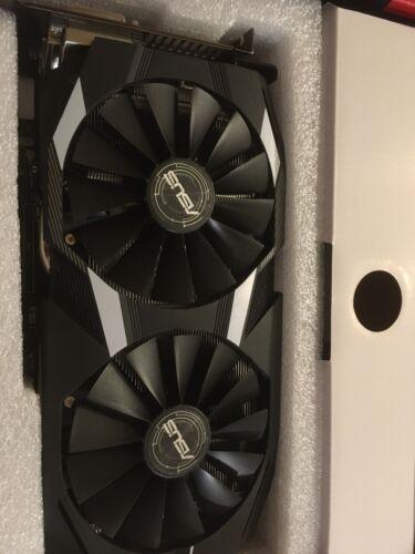 Asus Dual-Series Radeon RX 580 (AMD RX580, PCIe 3.0, 4GB RAM) Grafikkarte