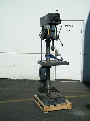 Clausing 2276 20 Variable Speed Drill Press 1.5 Hp 460 Volt