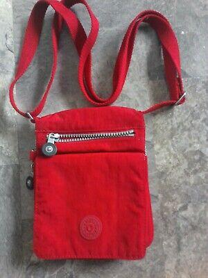 purse KIPLING El Dorado bag travel NYLON small RED