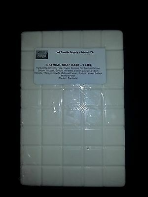 2 LBS OATMEAL MELT AND POUR SOAP BASE  SOAP MAKING SUPPLIES