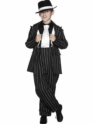 Boys Zoot Suit Costume Kids Gangster 1920s fancy Dress Outfit Childs (Boys Zoot Suits)