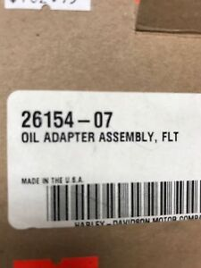 HARLEY-DAVIDSON OIL ADAPTOR ASSEMBLY