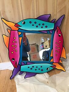 Nova Scotia Folk art mirror