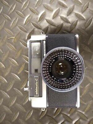 Yashica Yashinon 1:2.8 4.5cm Minimatic-C Camera Made Japan Vintage Collectible