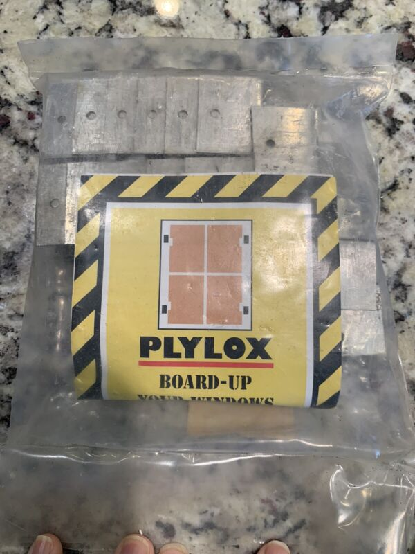 """Plylox Hurricane Window Clips 1/2""""  20 pcs Pack STAINLESS STEEL Fast Free Ship"""