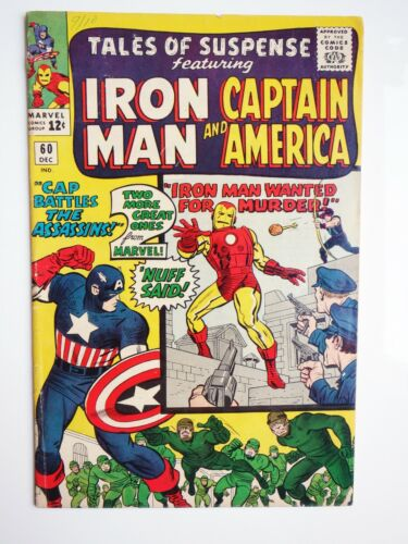 Marvel Comics  Tales of Suspense # 60 Second appearance of Hawkeye Iron Man