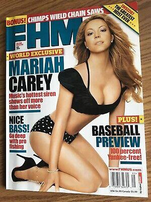 FHM Magazine May 2005 Mariah Carey