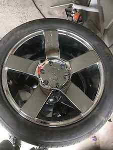 """BRAND NEW 20"""" 6 stud kmc wheels and tyres package Port Macquarie Port Macquarie City Preview"""