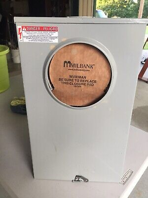 Milbank Uc7445 Instrument Transformer Rated Meter Socket