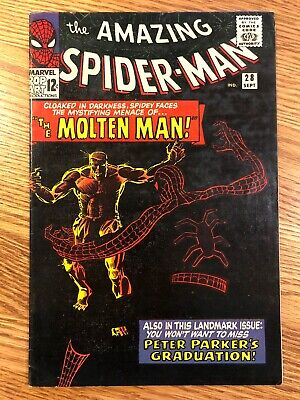 AMAZING SPIDER-MAN #28 - UNRESTORED- NEVER PRESSED - CLEAN COMIC See Pictures