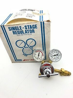 Airco Single Stage Regulator 806-8309 Acetyene Gaa-510 Ging