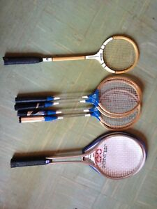 Racquets for 3 sports