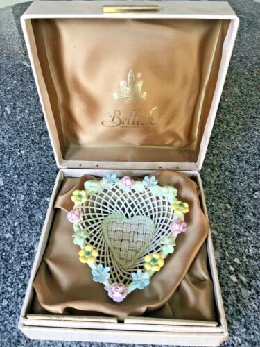 Belleek Heart Dish