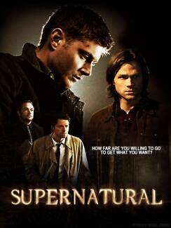 Supernatural Tv Show 26 Autographed Photos ($10 the lot) Robina Gold Coast South Preview
