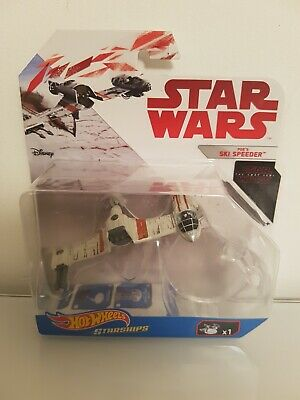 "Hot Wheels Star Wars Starships ""The Last Jedi"" Series - Poe's Ski Speeder"