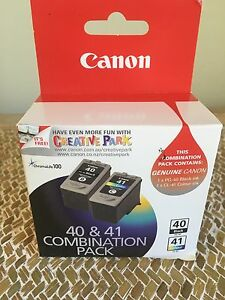 Canon Printer Ink Cartridges. 40 & 41 Combination Pack Hornsby Hornsby Area Preview