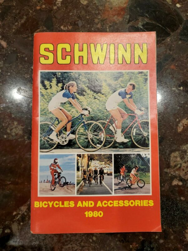 Schwinn Bicycles and Accessories Catalog 1980