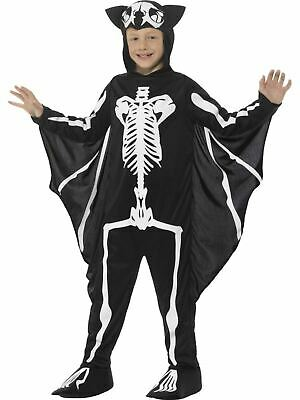 Bat Skeleton Boy's Fanncy Dress Costume (Bat Boy Kostüme)
