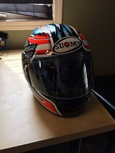 Max Biaggi replica Suomy helmet Mint condition