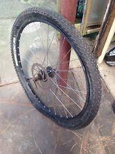 "Mountain bike front wheel / disc brake 26"" Belmont North Lake Macquarie Area Preview"