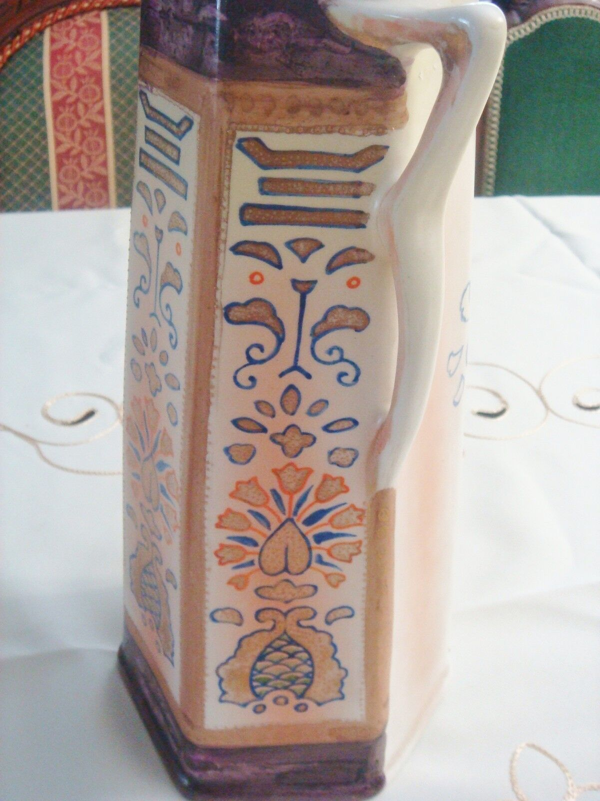 Royal Nishiki Nippon Vase Made For The Domestic