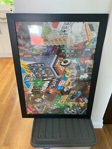 Kids Room City framed picture