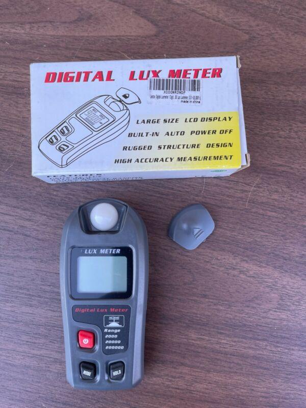 Leaton Digital Lux Meter